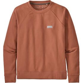 Patagonia Pastel P-6 Label Organic Crew sweatshirt Damer, rød
